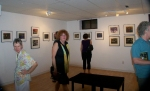 Downstairs at the Artword Gallery